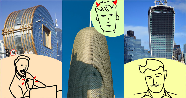 If Your Annoying Coworkers Were Indiscreet Buildings