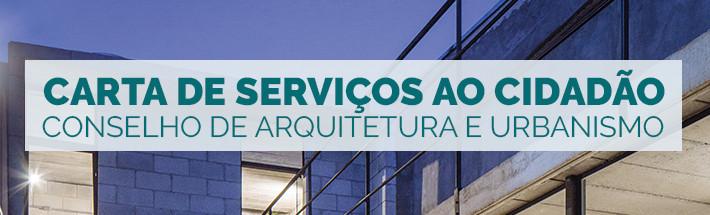 CAU lança Carta de Serviços ao Cidadão