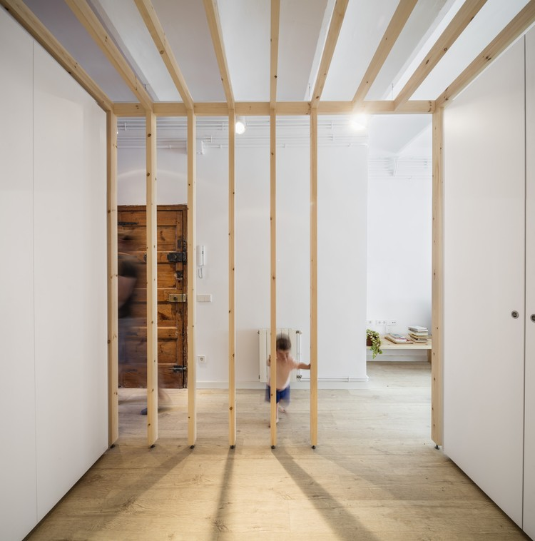 Reforma do apartamento LB / Alventosa Morell Arquitectes , © Adrià Goula