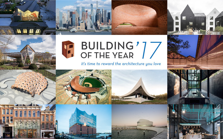 As histórias por trás dos 16 vencedores do Prêmio Building of the Year 2017