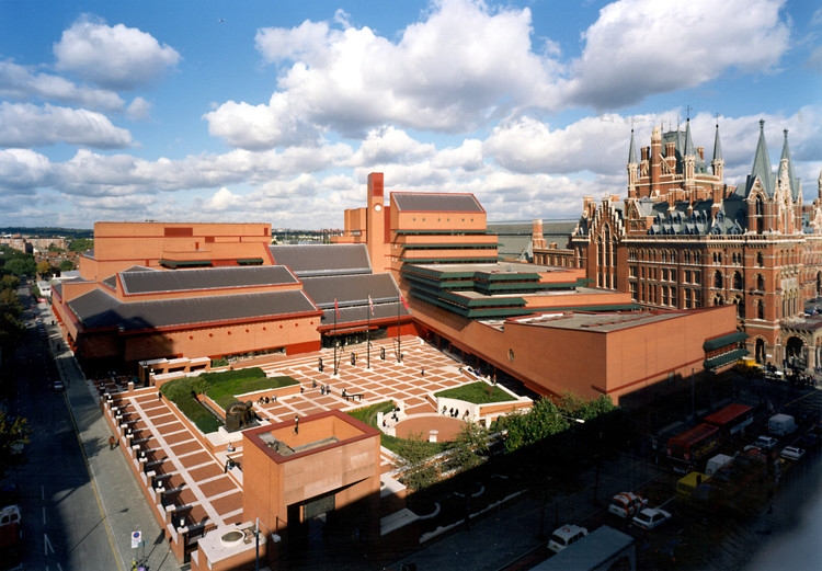 Rogers Stirk Harbour + Partners Tipped to Extend London's Iconic British Library Complex, Courtesy of British Library