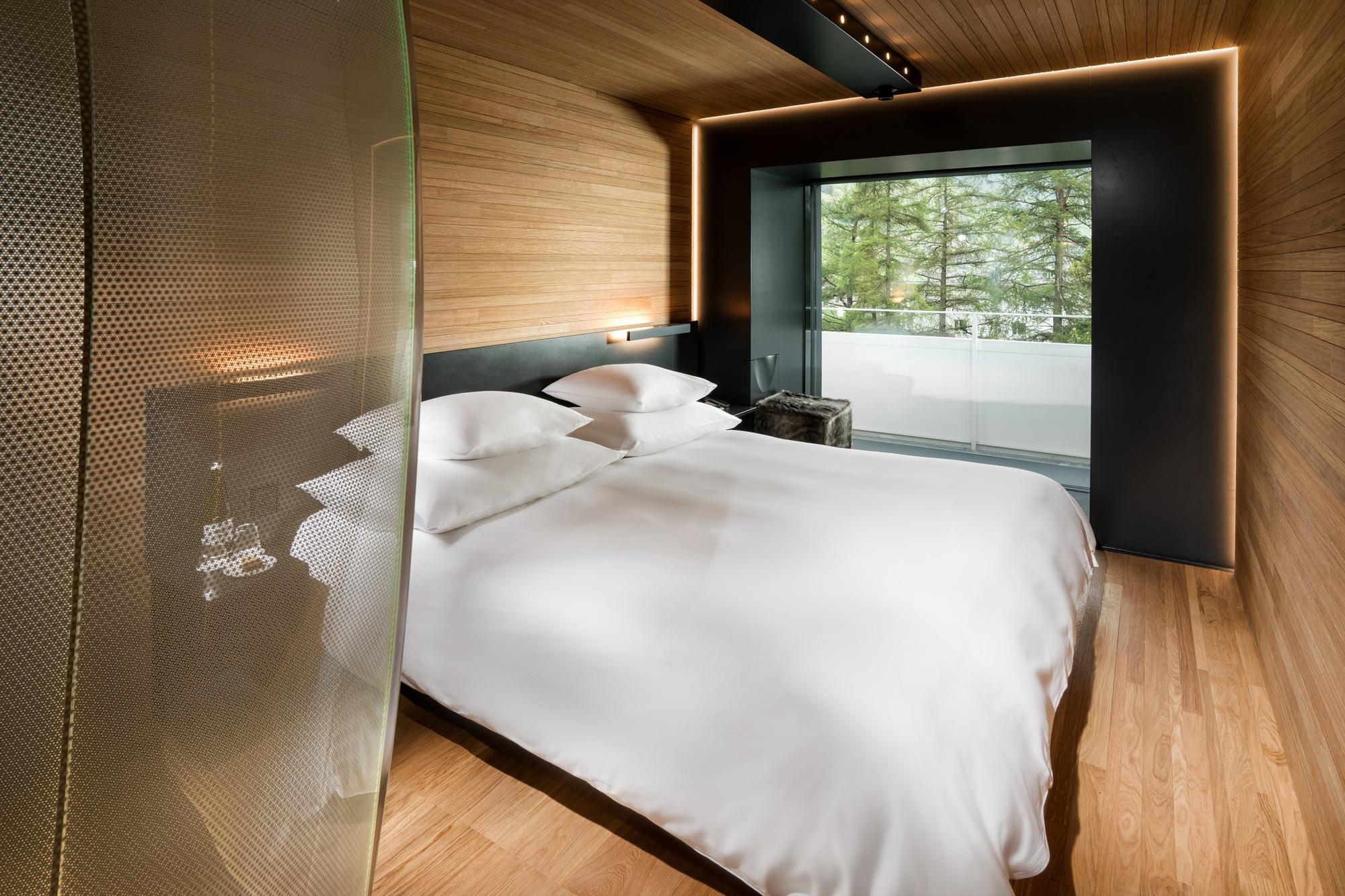 Zumthor Hotel Room