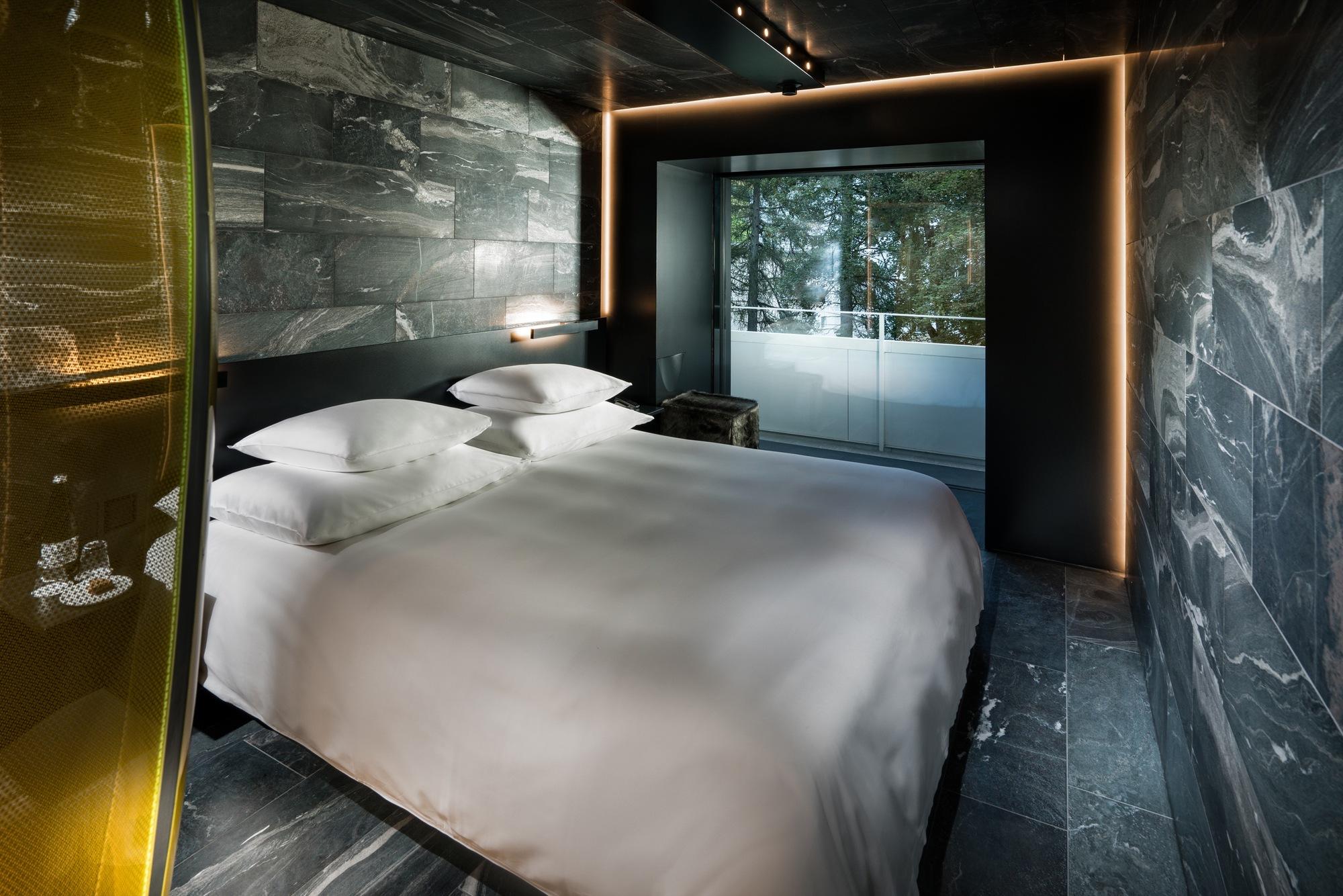 Vals Zumthor Hotel Rooms