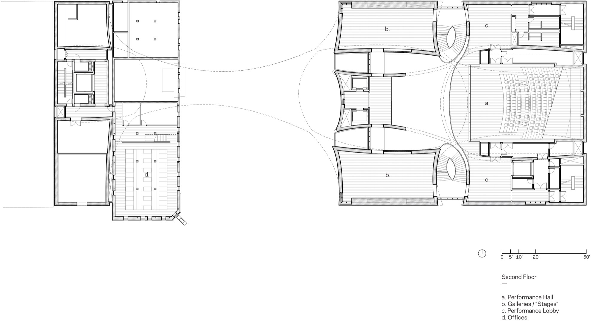 Line Art Studio Serpong : Galeria de studio bell allied works architecture