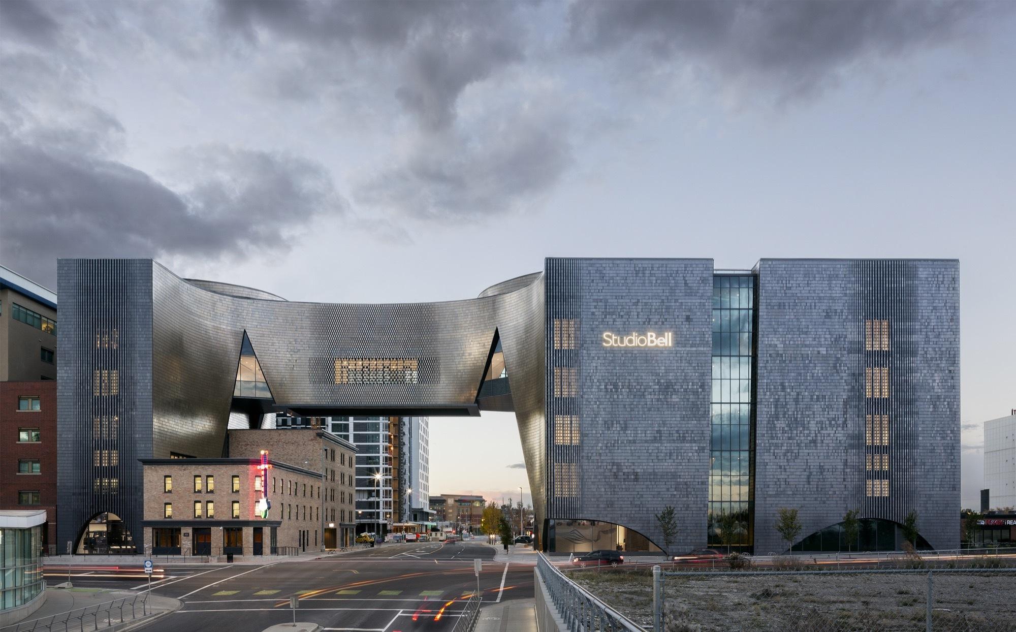Studio Bell Allied Works Architecture Plataforma