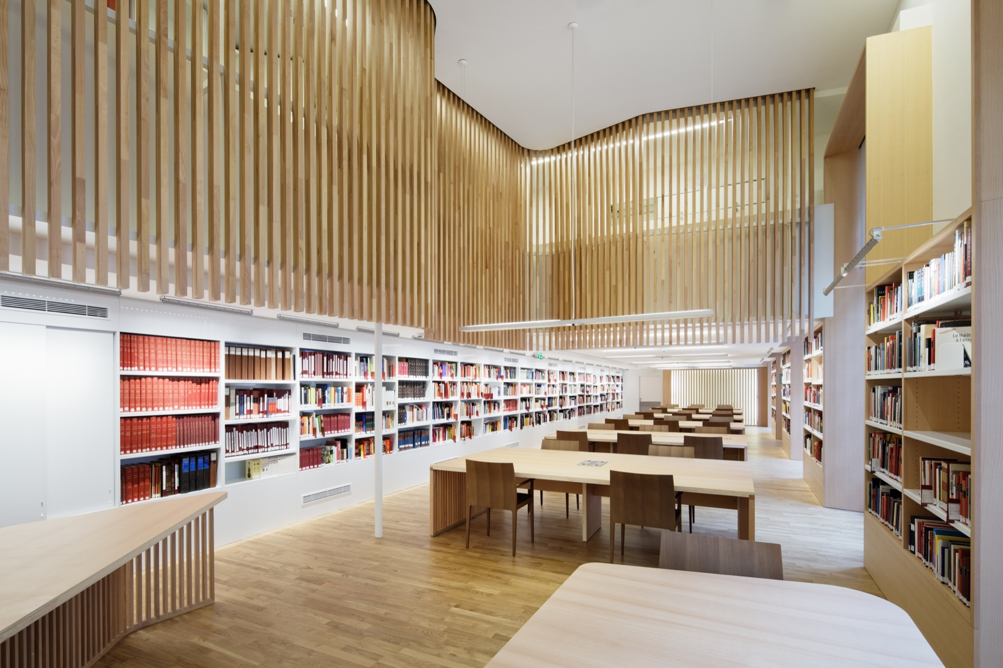 gallery of biblioth que nationale de france refurbishment atelier bruno gaudin virginie. Black Bedroom Furniture Sets. Home Design Ideas