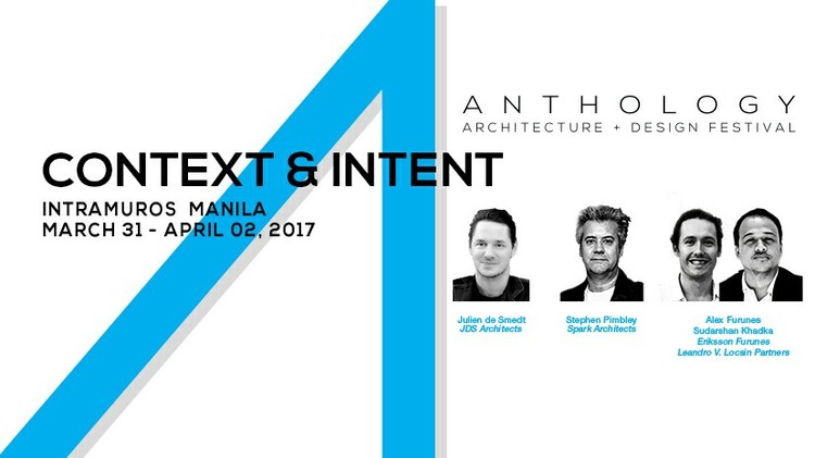 "Anthology Festival 2017: ""Context and Intent"", Anthology Festival 2017"