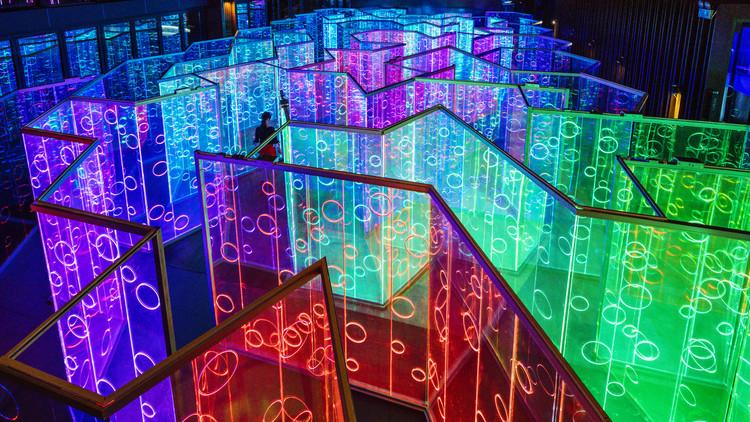 Yǔzhòu, una instalación de luz inmersiva bajo el lente de Imagen Subliminal, © Imagen Subliminal