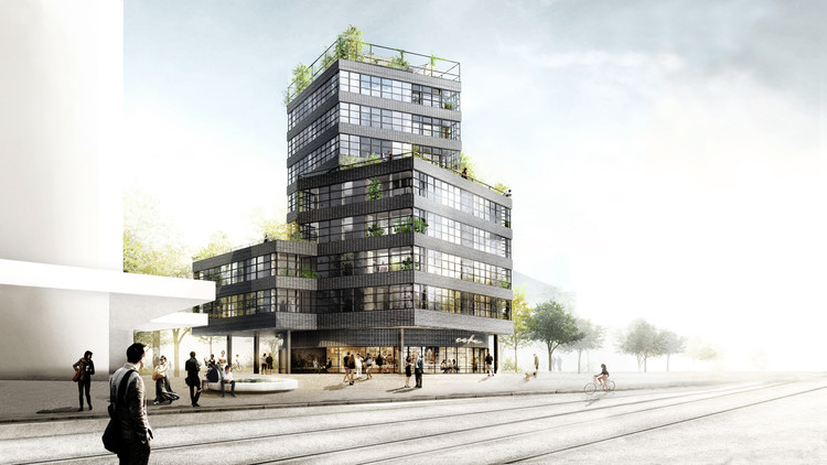 HHF Architects + Westpol Win Switzerland Apartment Tower Competiton, Courtesy of HHF Architects