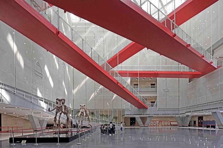 Museu e Centro Expositivo de Planejamento Urbano em Bengbu  / MengArchitects, © Zhang Guangyuan