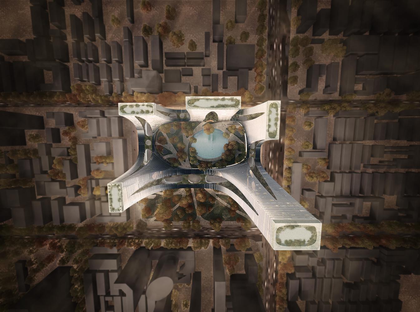 Gallery of Tonkin Liu Reveals the Cradle Towers of Zhengzhou - 4