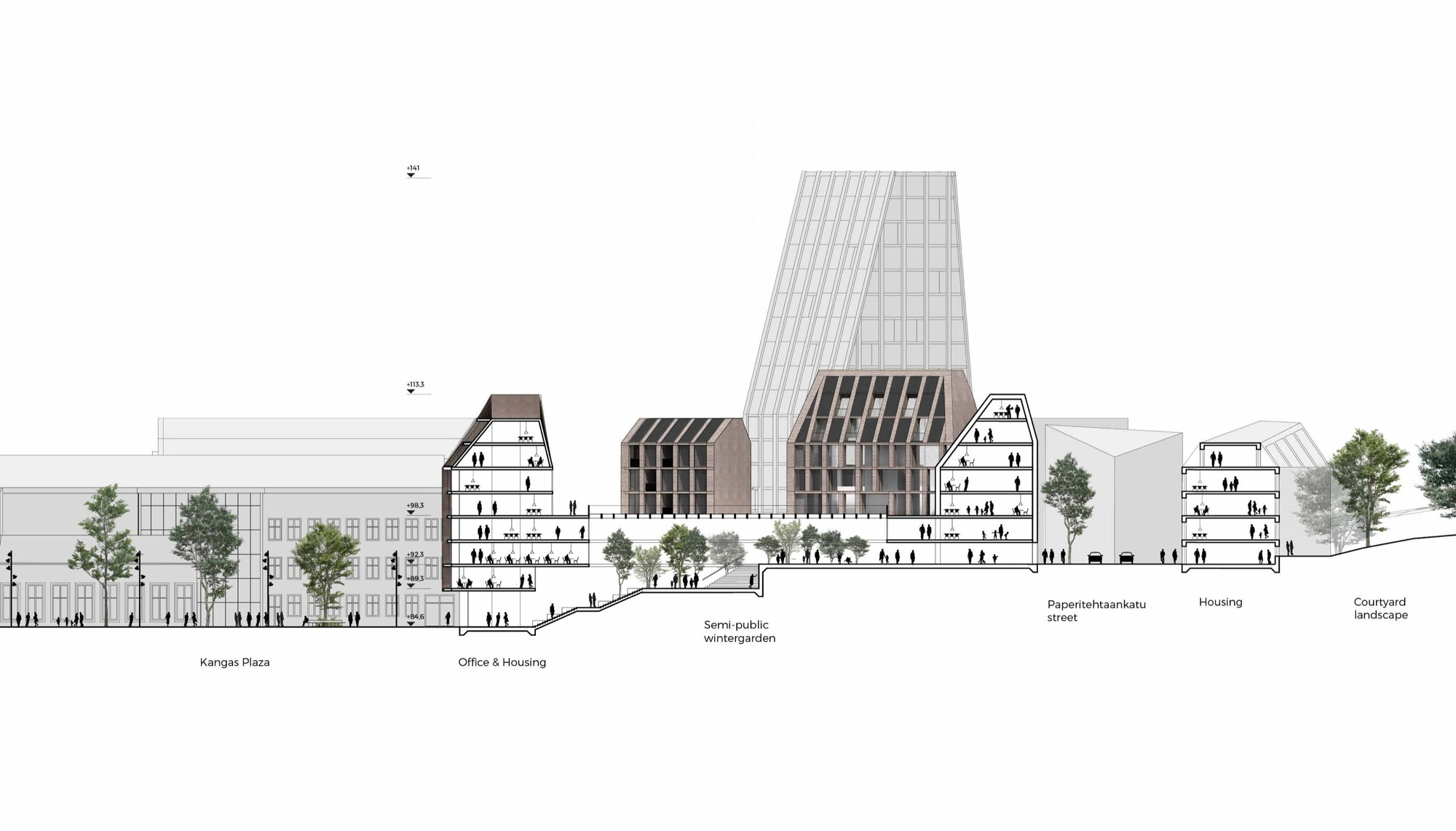 gallery of schauman u0026 nordgren architects wins competition for