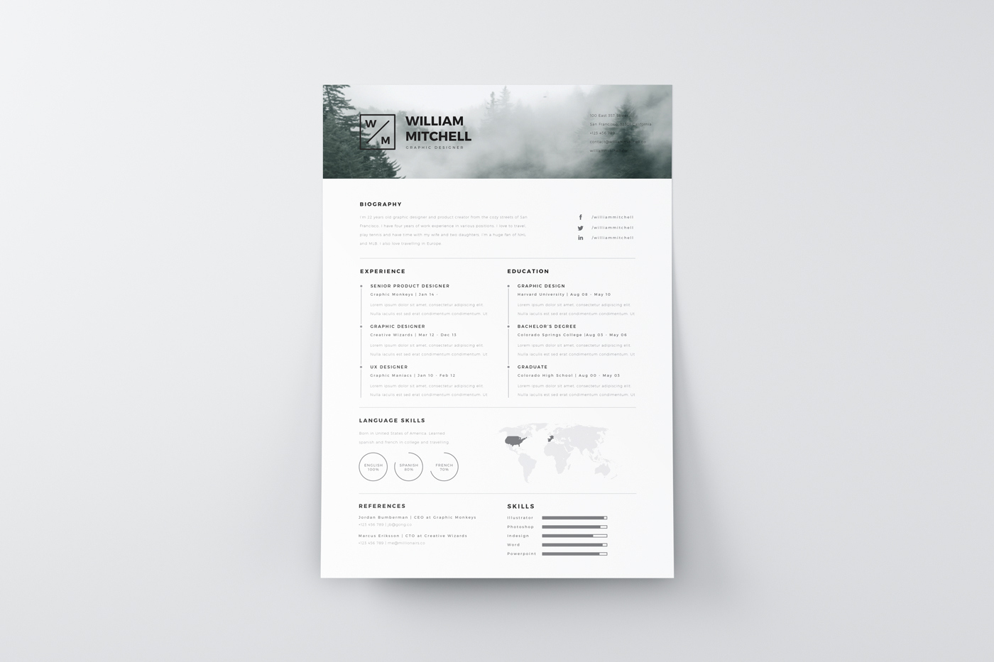 best modern clean resume design gallery of free resume templates for architects 2 best modern clean resume design