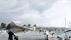 Schauman & Nordgren Architects' Winning Masterplan Envisages New Harbour Front Identity