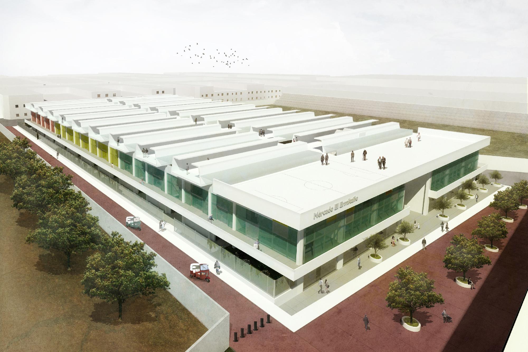 Primer lugar concurso 39 mercado el ermita o 39 en for Arquitectura de proyectos