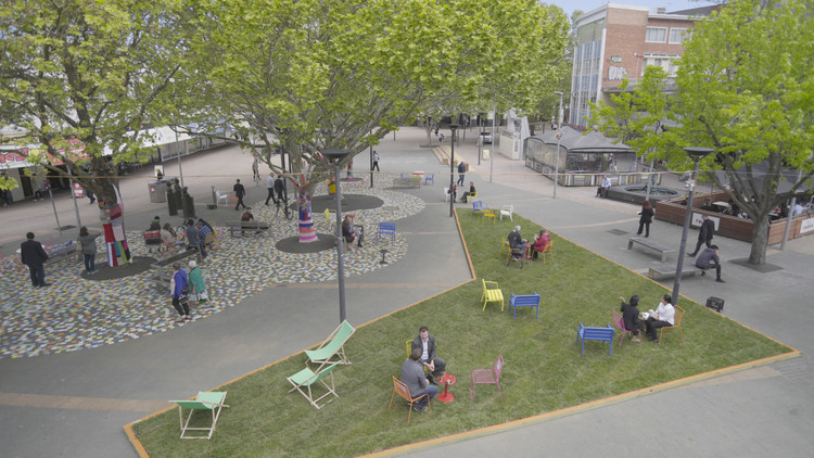 Urban Design Furniture 6 low-cost techniques to activate underused urban space | archdaily