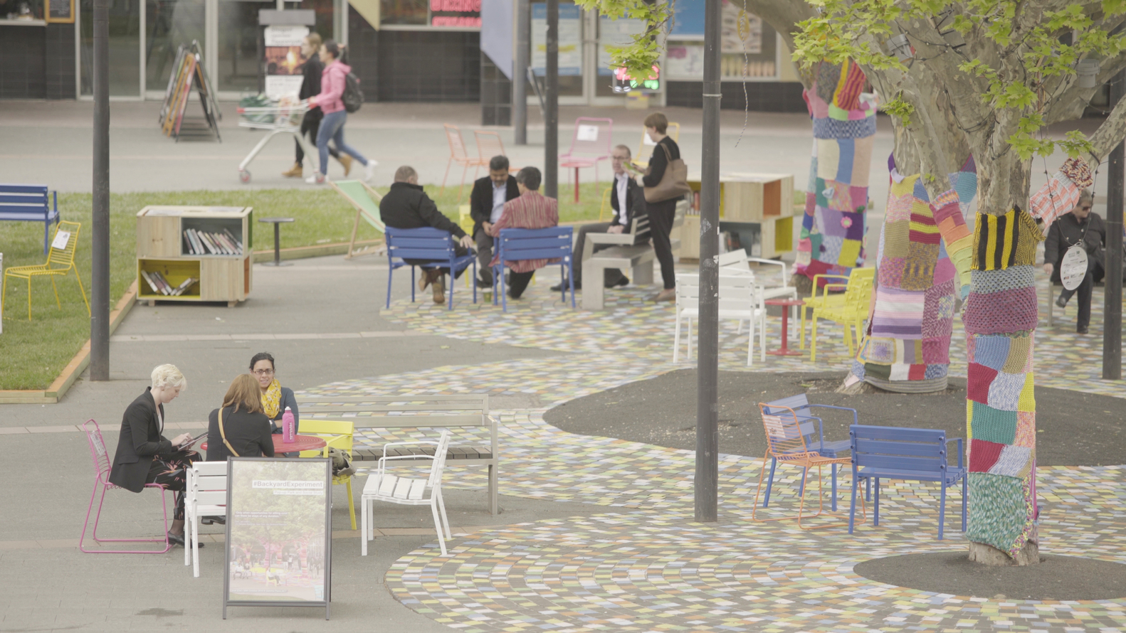 6 Low Cost Techniques To Activate Underused Urban Space Courtesy Of Street Furniture Australia