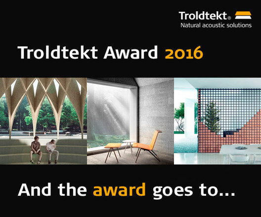 Two Romanian Students Have Won the Troldtekt Award, Courtesy of Troldtekt Award