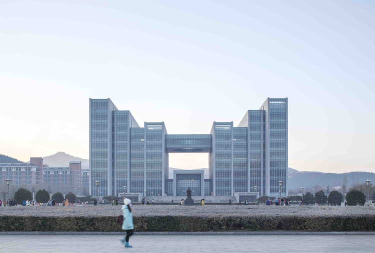 The Library of Shandong Normal University / UAD, © Yong Zhang