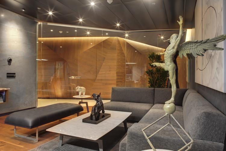 Soccermedia rima arquitectura archdaily m xico for Interiorismo contemporaneo