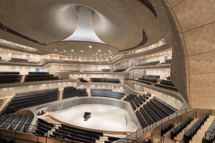 O processo paramétrico por trás da sala de concertos da Filarmônica de Hamburgo, © Iwan Baan