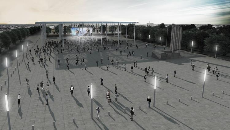 Estudio BCP, mención honrosa en remodelación de Plaza 19 de Abril de la Ciudad de Treinta y Tres, Cortesía de Estudio BCP