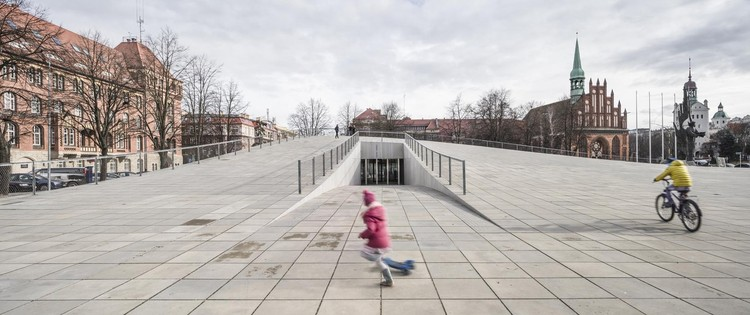 World Architecture Festival Launches Manifesto for the Architectural Profession, 2016 World Building of the Year, National Museum in Szczecin by Robert Konieczny + KWK Promes . Image © Juliusz Sokołowski