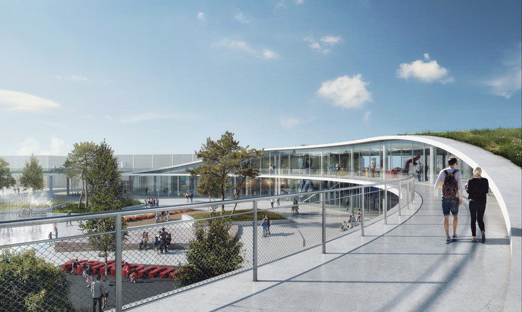 Urban Agency and Aarhus Arkitekterne Unveil Proposal for Denmark's Largest Exhibition Center, © Urban Agency