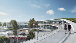 Urban Agency and Aarhus Arkitekterne Unveil Proposal for Denmark's Largest Exhibition Center
