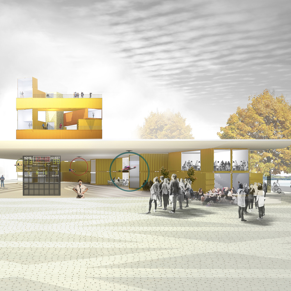 Gallery of Studioshaw\'s Competition-Winning Interactive Hub for ...