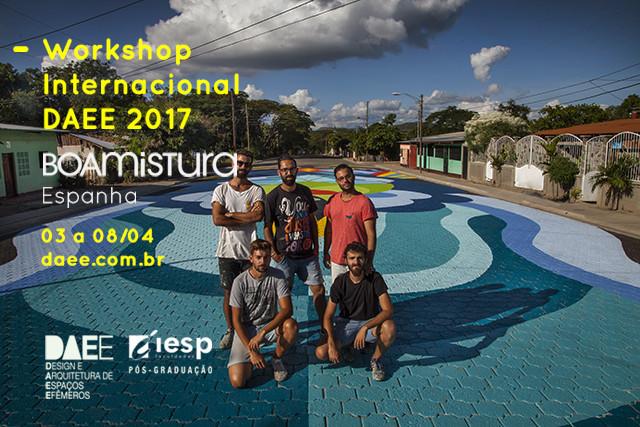 Workshop Internacional DAEE 2017 + Boamistura (Espanha), Boamistura conduzirá Workshop Internacional da Pós DAEE. Foto: Divulgação Boamistura