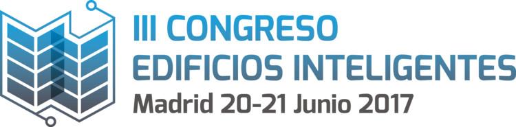 III Congreso Edificios Inteligentes, 20 & 21 Junio 2017 Madrid, Logo III Congreso Edificios Inteligentes