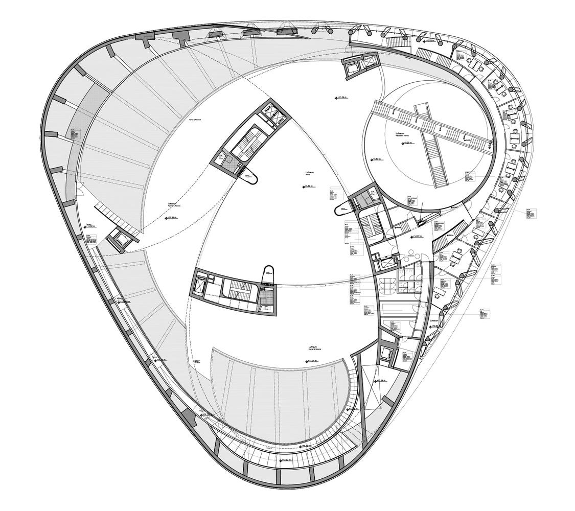 attractive mercedes plan #2: Mercedes-Benz Museum,Plan