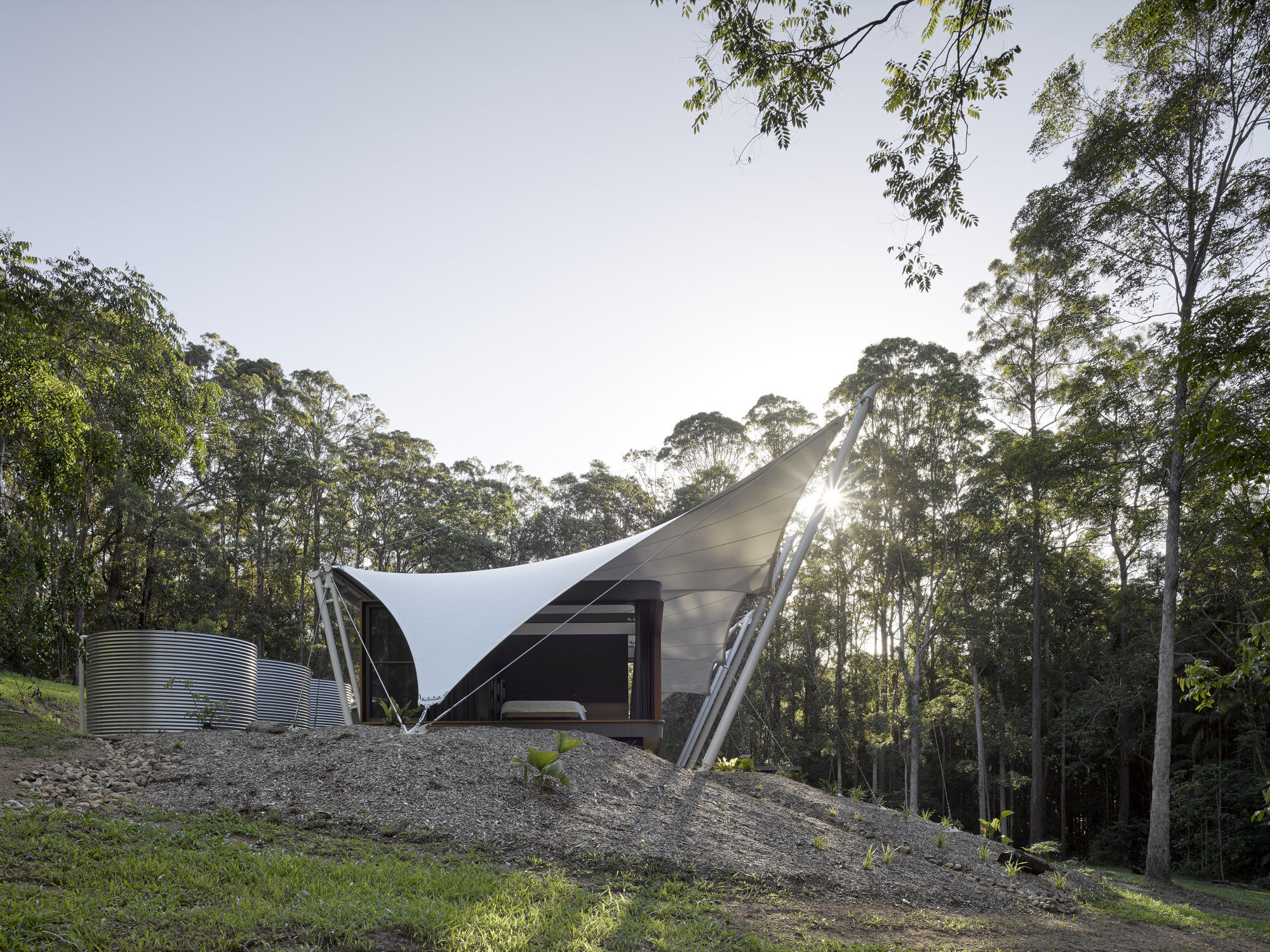 tent house sparks architects