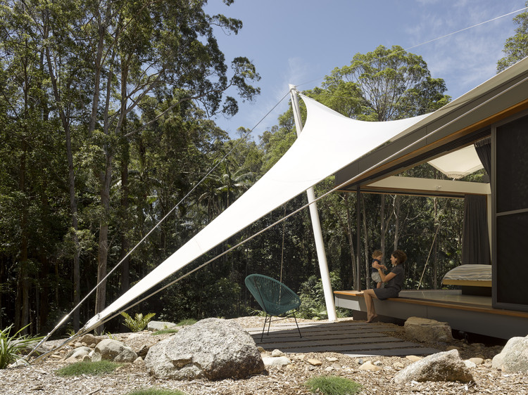 Tent house sparks architects archdaily Tent a house