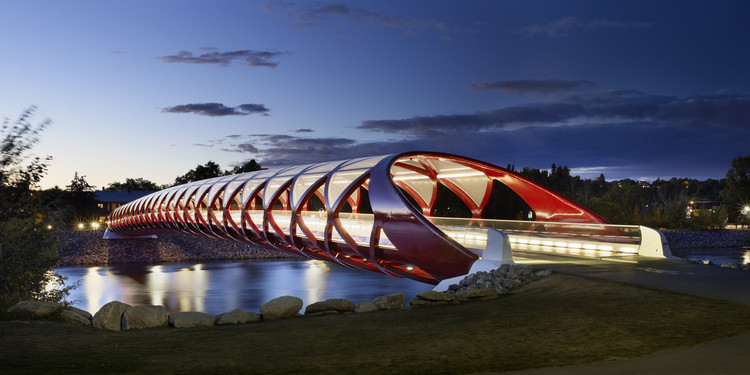 Puente de la Paz / Santiago Calatrava, © Alan karchmer