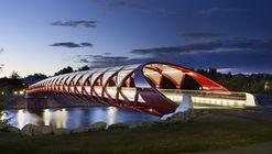 Puente de la Paz / Santiago Calatrava