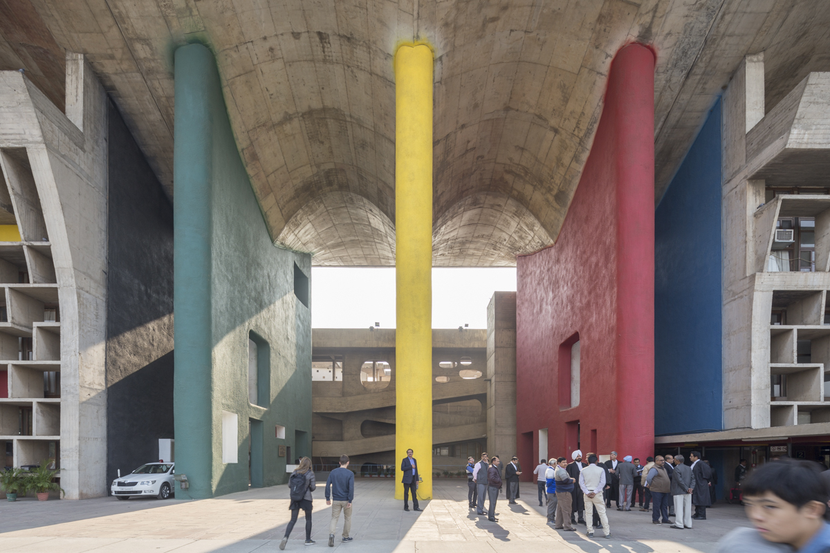 Ad classics master plan for chandigarh le corbusier for Magazine architecture interieure