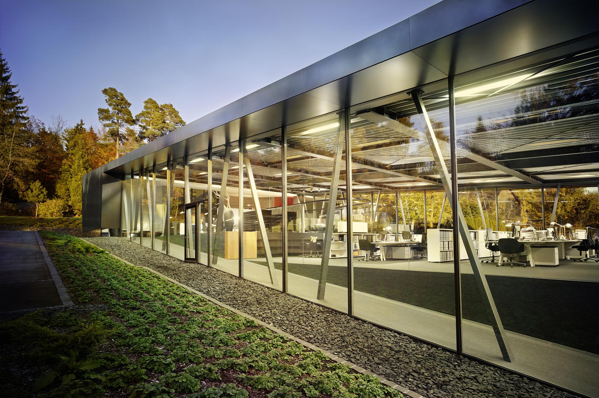 gallery of architecture campus schmelzle partner 12. Black Bedroom Furniture Sets. Home Design Ideas