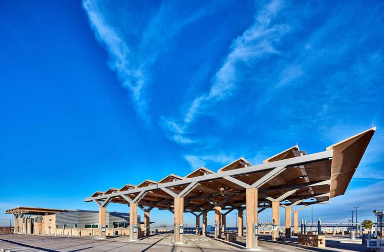 Tornillo Land Port of Entry / Richter Architects, © Craig Blackmon