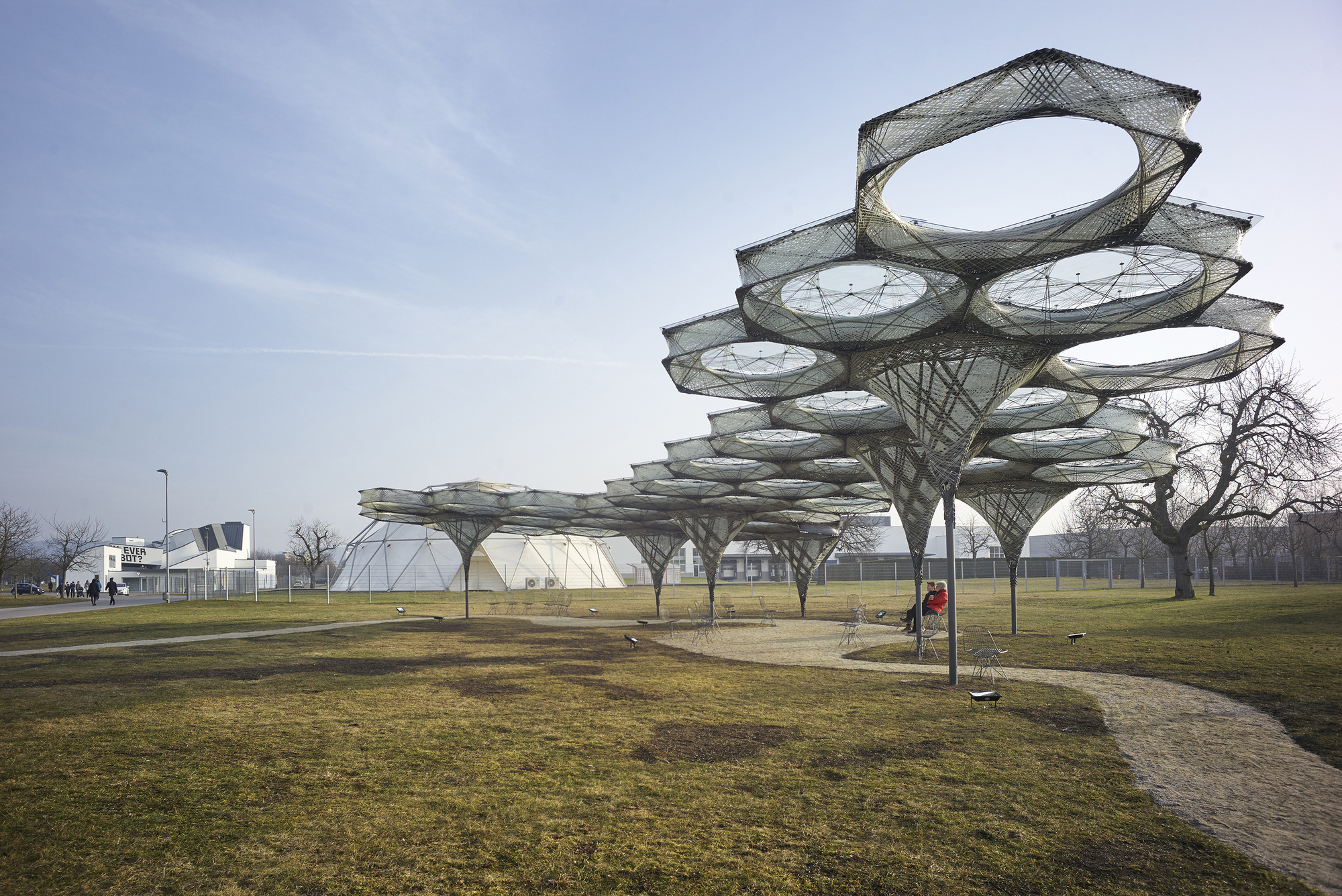 Elytra Filament Pavilion Icd Itke University Of
