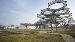Pavilhão Elytra Filament / ICD-ITKE Universidade de Stuttgart