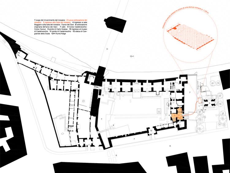 castelvecchio museum  u2013 the east wing    filippo bricolo  u0026 bricolo falsarella associates