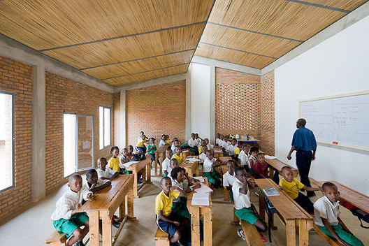 MASS Design Group's Umubano Primary School in Kigali, Rwanda. Image © Iwan Baan