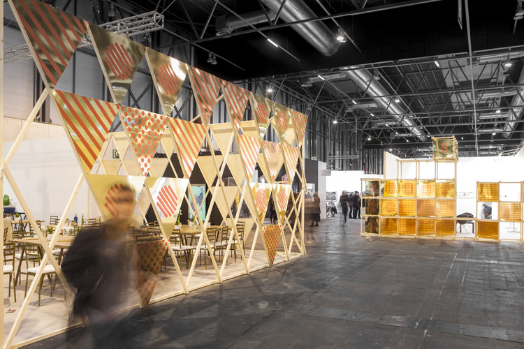 Arquitectura Efímera: Andrés Jaque en ARCO 2017, © Jorge López Conde & Eduardo López