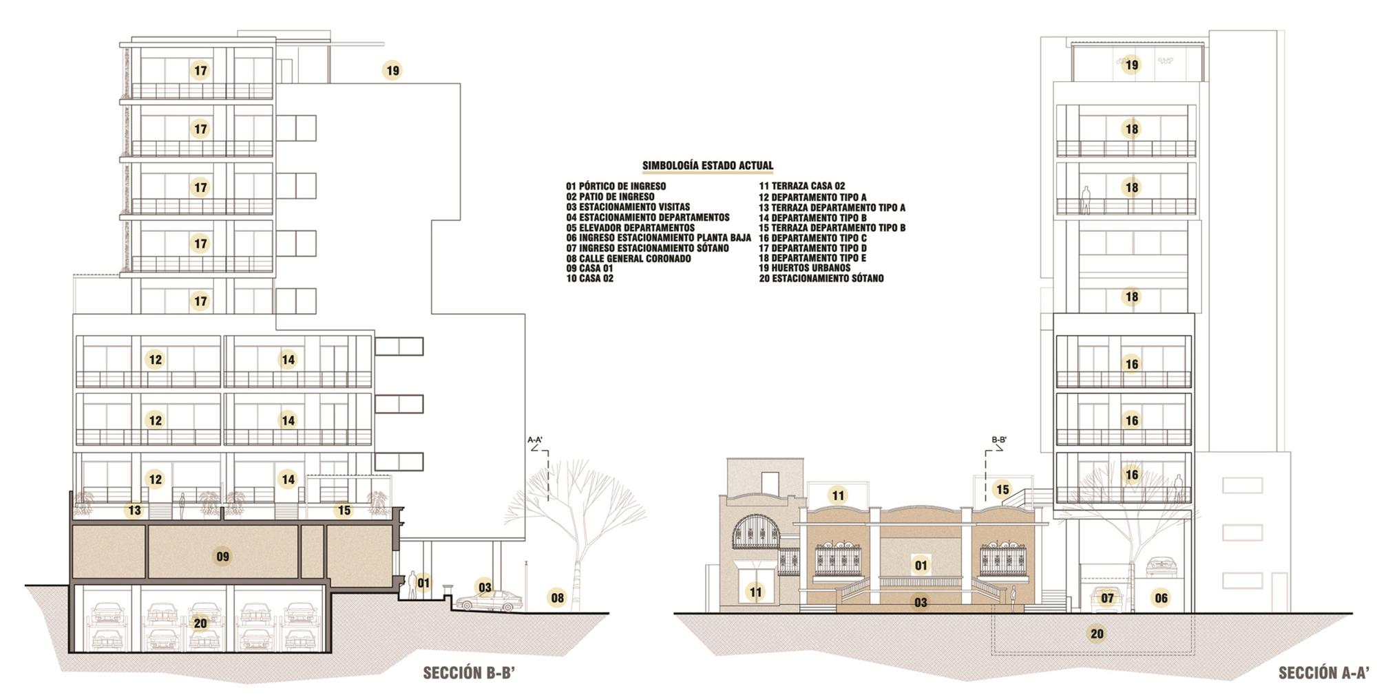 Galería de Edificio Casa Coronado / Trama Arquitectos - 23