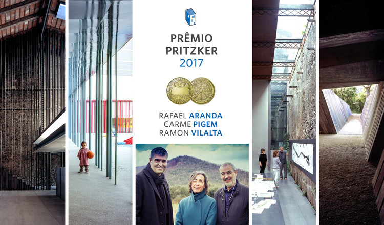 Rafael Aranda, Carme Pigem e Ramon Vilalta vencem o Prêmio Pritzker 2017, © ArchDaily