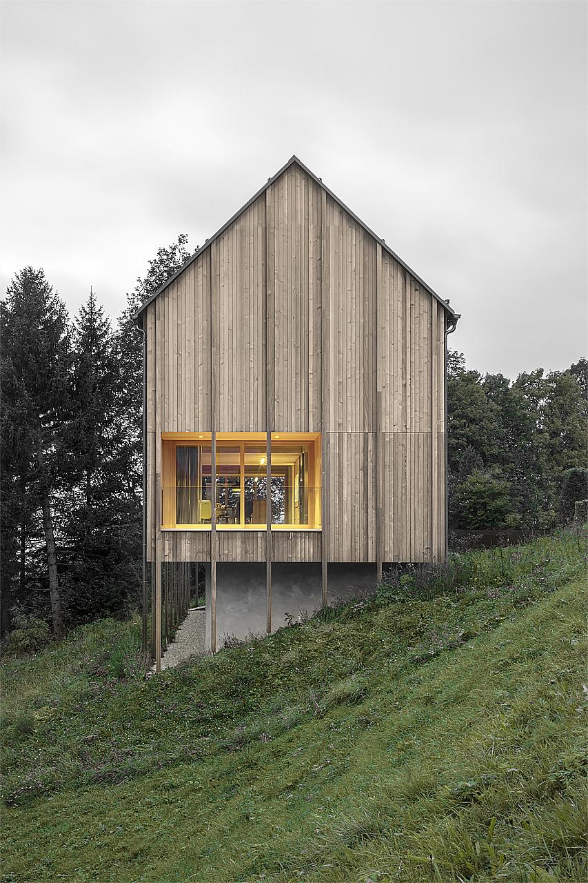 Haus Am St 252 Rcherwald Bernardo Bader Architekten Archdaily