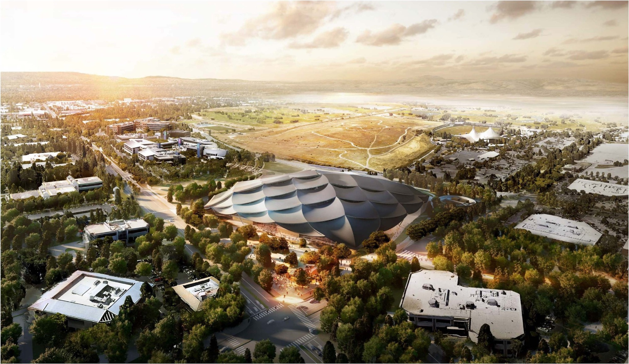 New Renderings Revealed of Google s Mountain View Campus Courtesy of City of Mountain View
