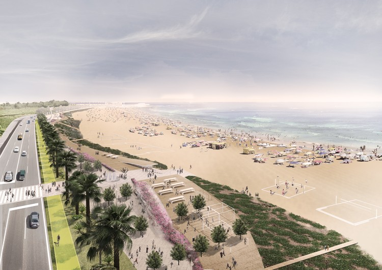 Lemay Wins Casablanca Coast Redesign Bid, Courtesy of v2com. © Lemay